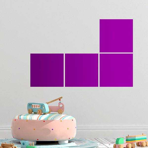 Wall Stickers: Tetris - Parts L and J