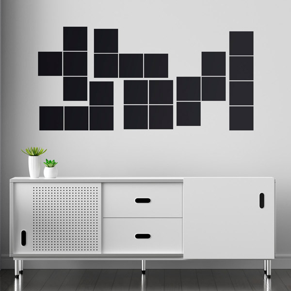 Wall Stickers: Tetris Block