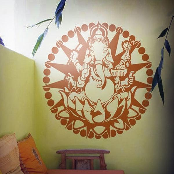 Wall Stickers: Mandala Ganesha