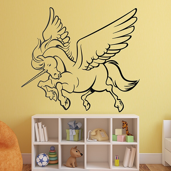 Wall Stickers: Powerful Alicorn