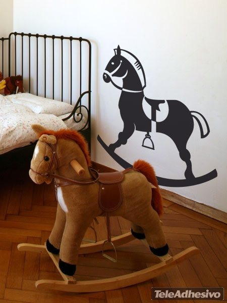 Stickers for Kids: Woodhorse