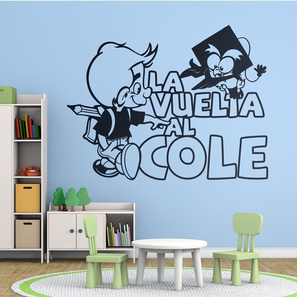 Wall Stickers: Back to school