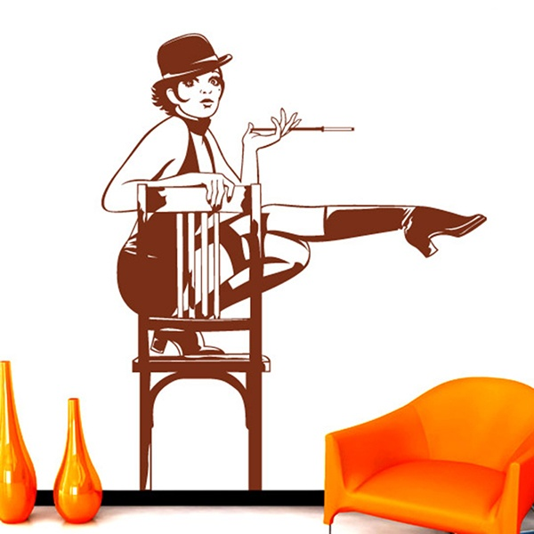 Wall Stickers: Cabaret