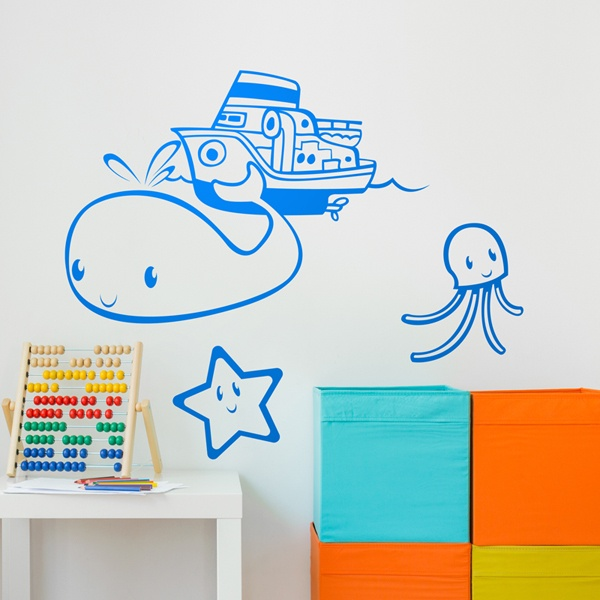 Stickers for Kids: Little navigator