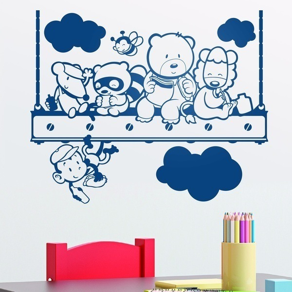 Wall Stickers: Animals Lunch