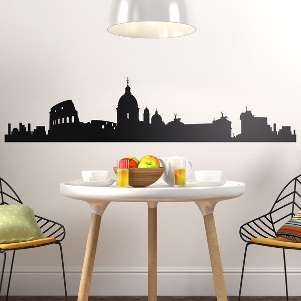 Wall Stickers: Rome Skyline