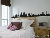 Wall Stickers: Paris Skyline 2