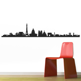 Wall Stickers: Paris Skyline 3