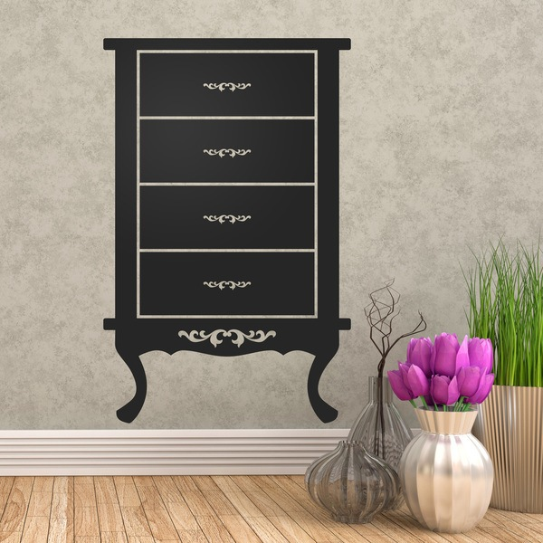Wall Stickers: Furniture Vintage