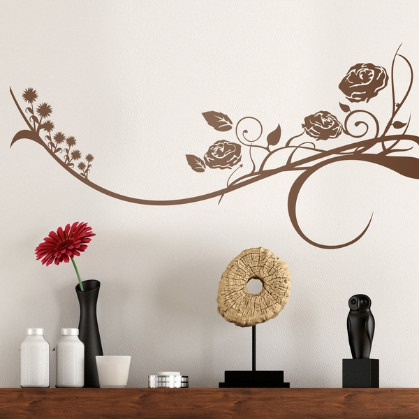 Wall Stickers: Floral Horus