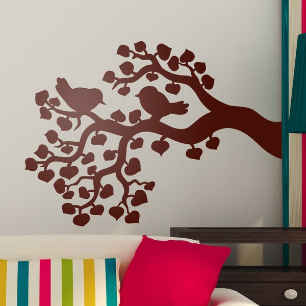 Wall Stickers: Birds in Catalpa