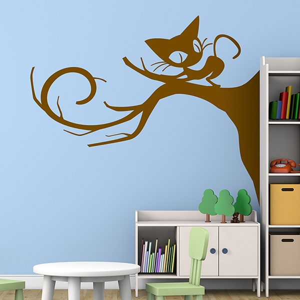 Wall Stickers: Burtoncat