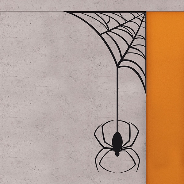 Wall Stickers: spiderweb