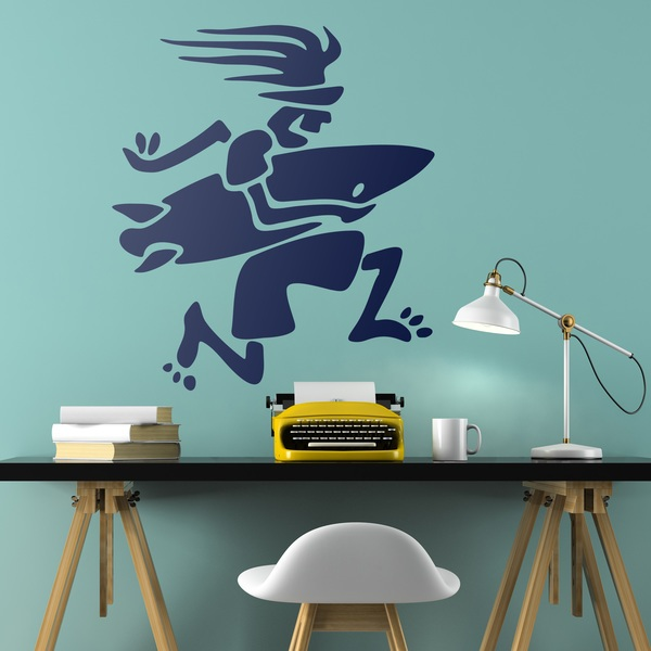 Wall Stickers: Surfing