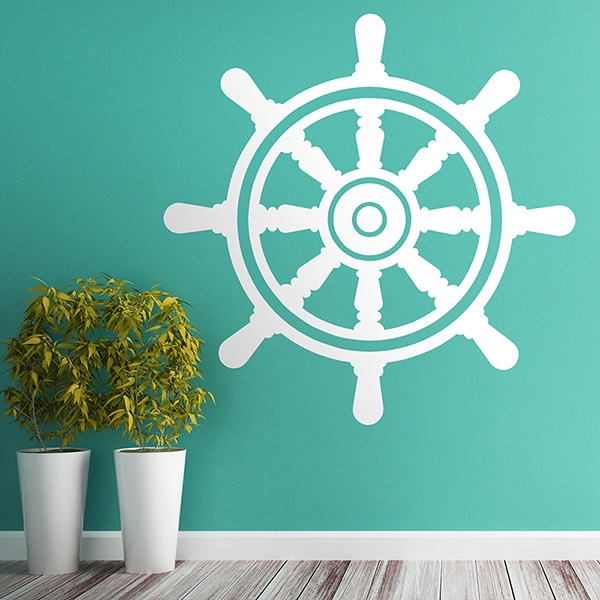 Wall Stickers: Boat rudder