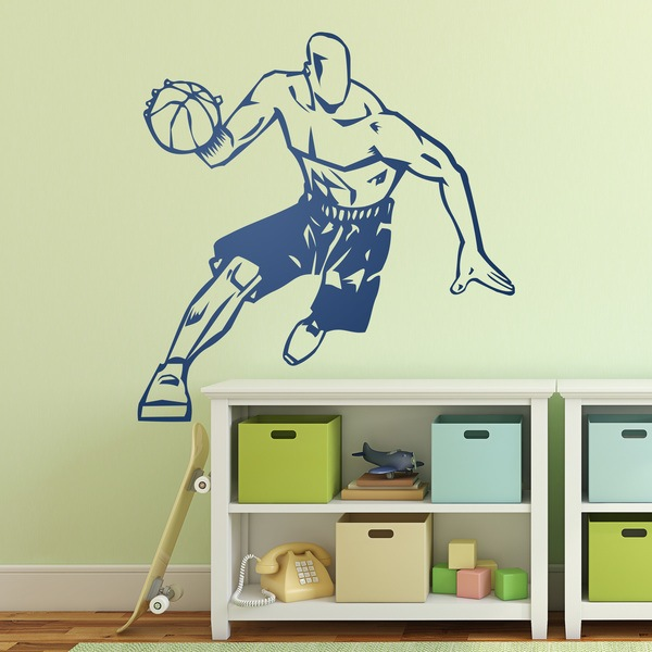 Wall Stickers: Basket