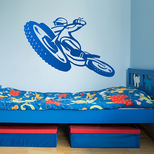 Wall Stickers: Moto Competition