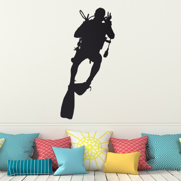 Wall Stickers: Diving