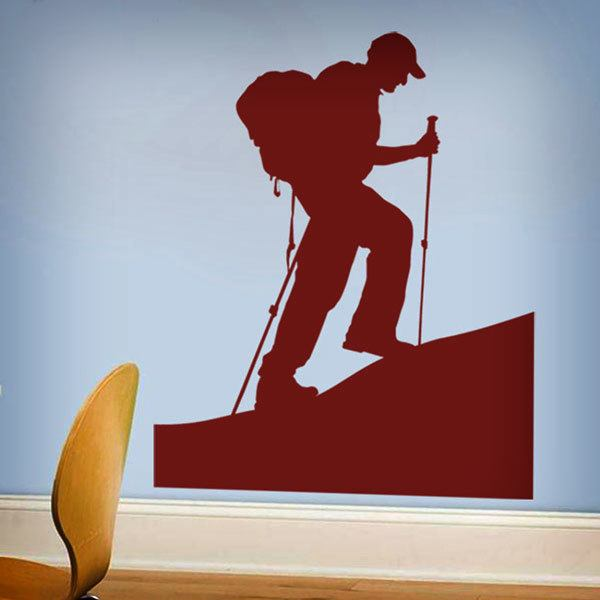 Wall Stickers: Mountaineering