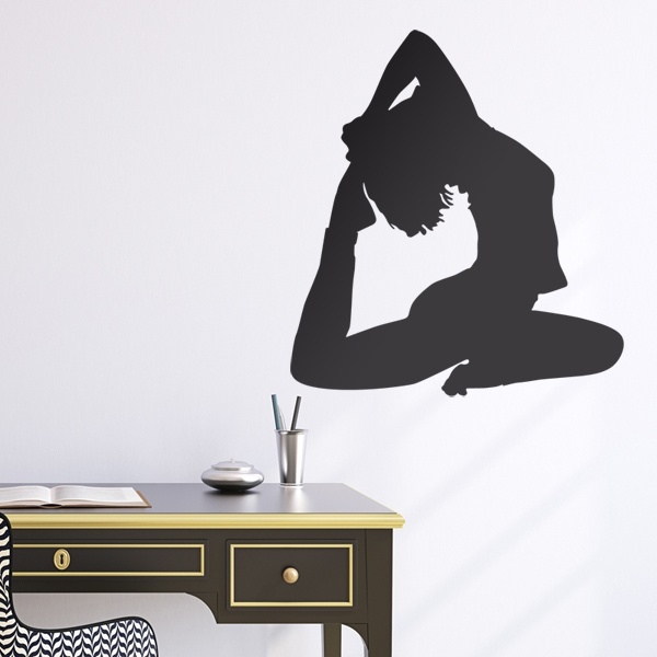 Wall Stickers: Stretching Rhythmic Gymnastics