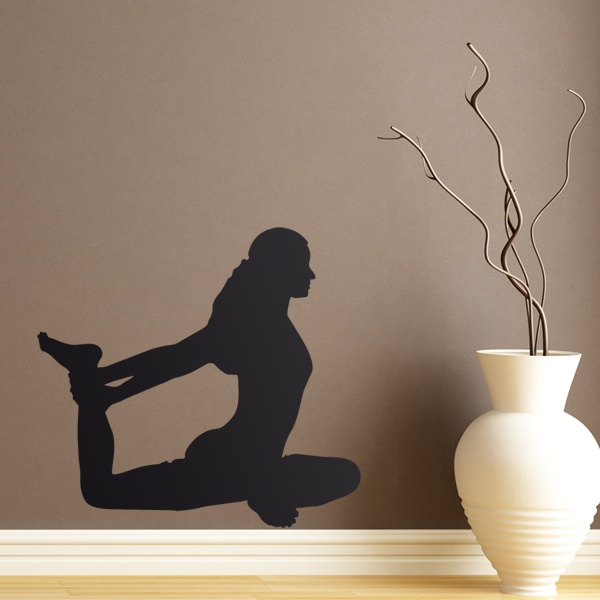 Wall Stickers: Gymnastics Stretching