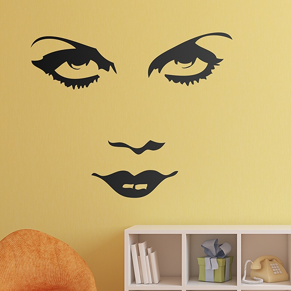 Wall Stickers: Marlene Dietrich