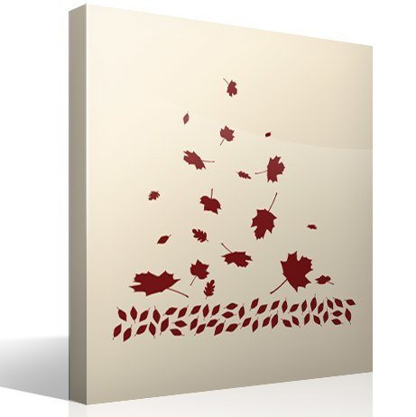 Wall Stickers: Leaves in autumn