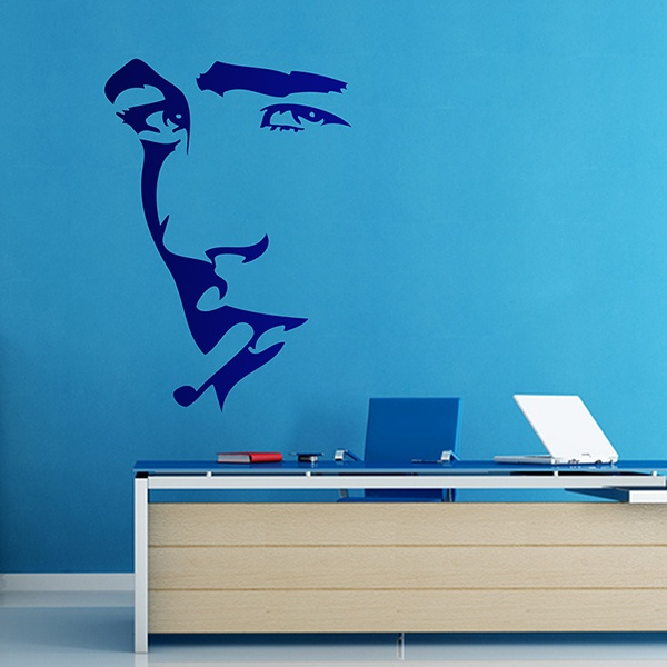 Wall Stickers: James Dean portrait