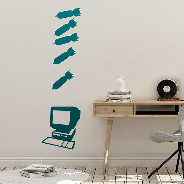 Wall Stickers: PC KO