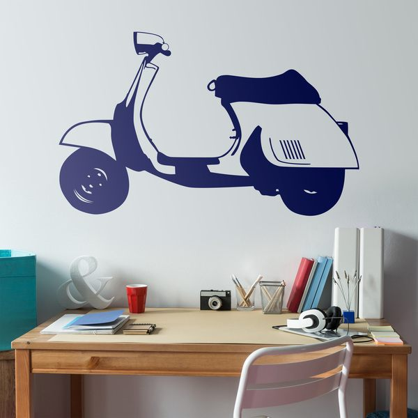 Wall Stickers: Scooter Vespa