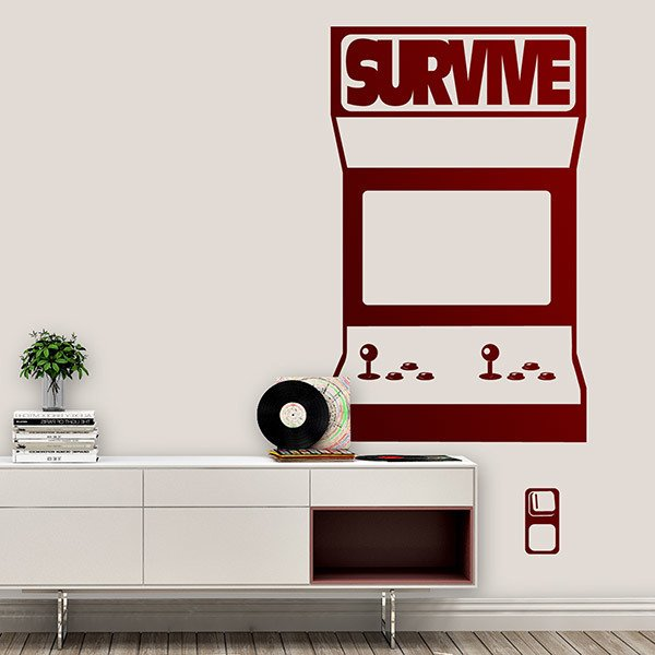 Wall Stickers: Recreational Machine