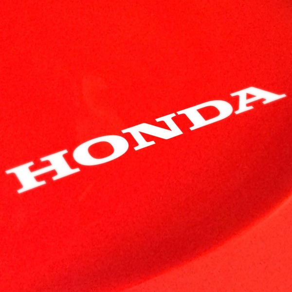 Car & Motorbike Stickers: Letters Honda