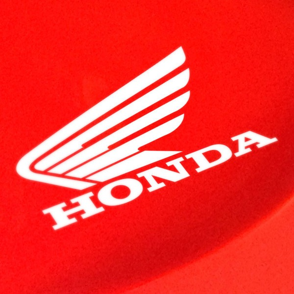 Car and Motorbike Stickers: Wing Honda Left side