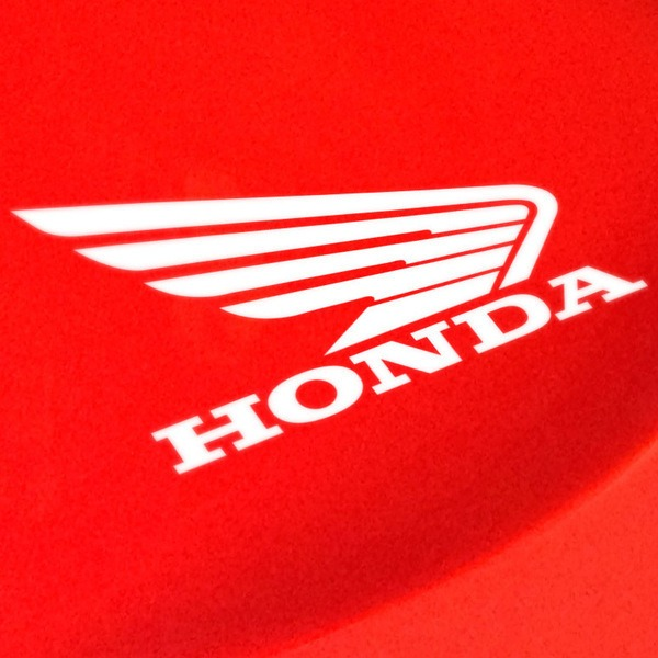 Car and Motorbike Stickers: Wing Honda Right side