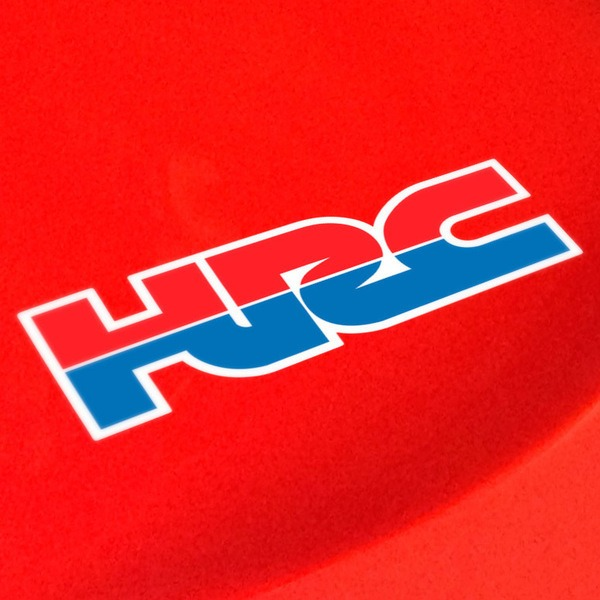 Car and Motorbike Stickers: HRC 1