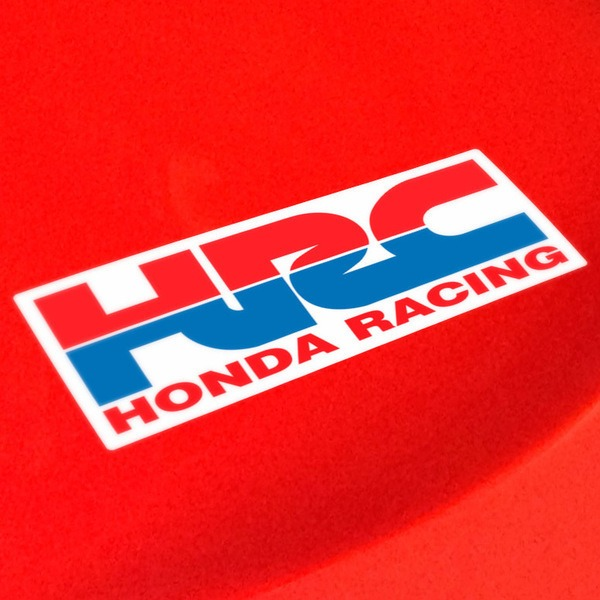 Car and Motorbike Stickers: HRC 2