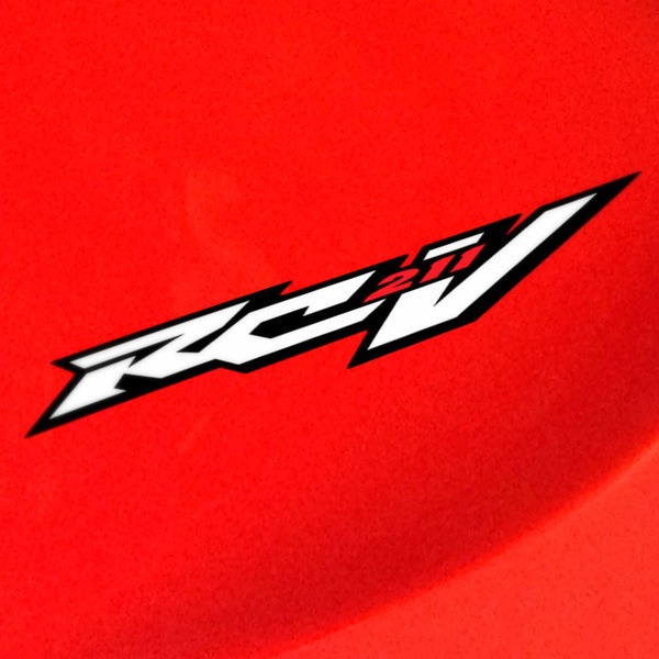 Car and Motorbike Stickers: Honda RCV 211