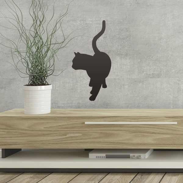 Wall Stickers: Happy kitten