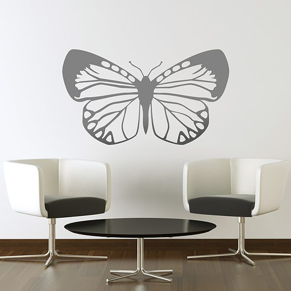 Wall Stickers: Butterfly Eroessa Chiliensis