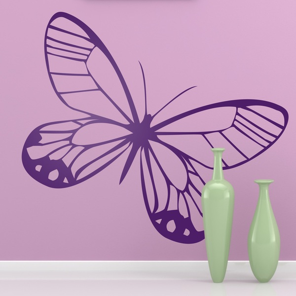 Wall Stickers: Butterfly Tatochila Butterfly