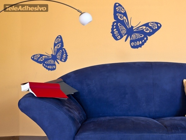 Wall Stickers: Butterfly Colias Vauthieri