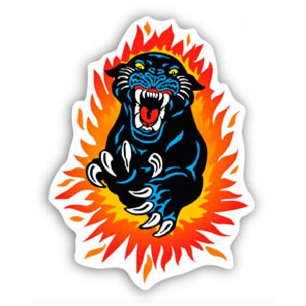 Car and Motorbike Stickers: Panther 1