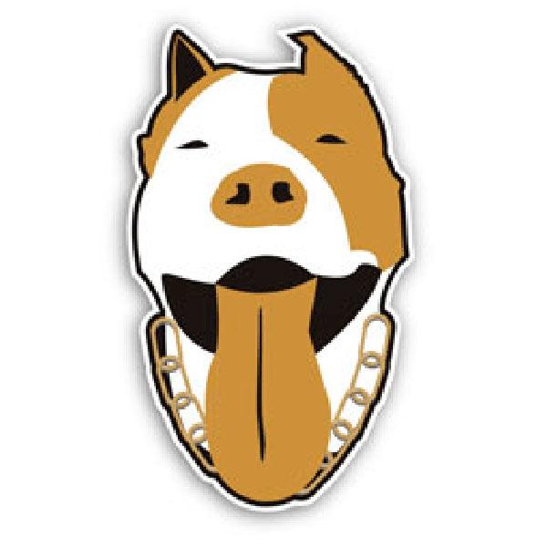 Car and Motorbike Stickers: Dog 1