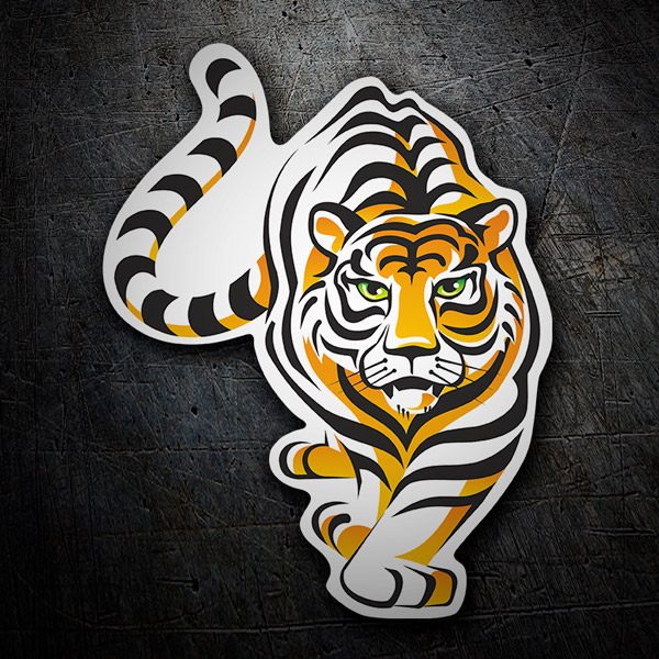 Car & Motorbike Stickers: Tiger 4