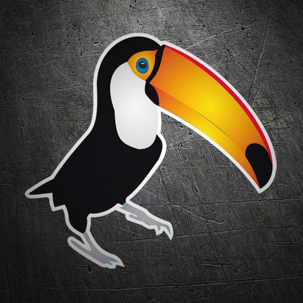 Car & Motorbike Stickers: Toucan