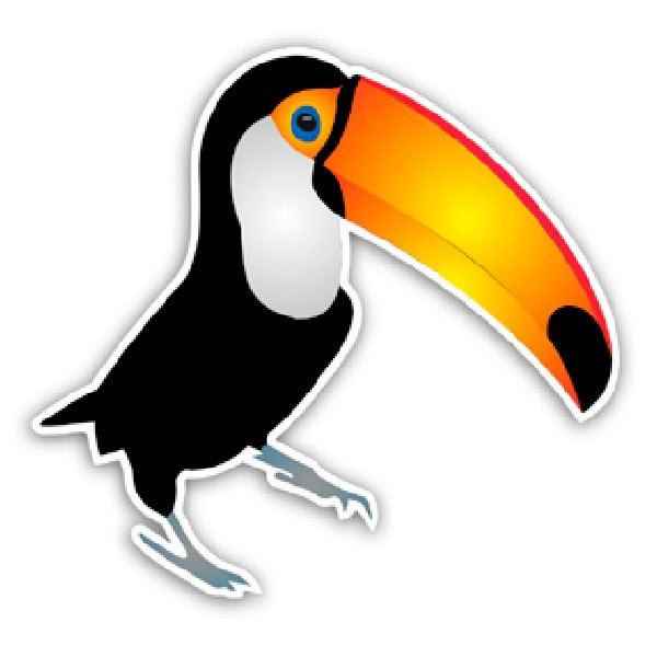 Car and Motorbike Stickers: Pelican 2