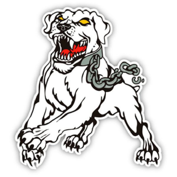 Car and Motorbike Stickers: Dog 3