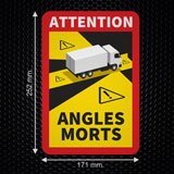 Car & Motorbike Stickers: Dead Angles Trucks 3