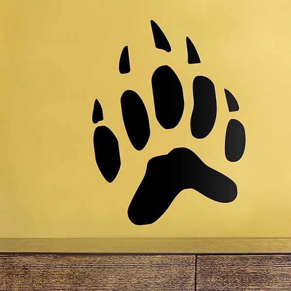 Wall Stickers: Badge Footprint