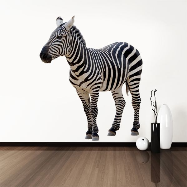 Wall Stickers: African zebra